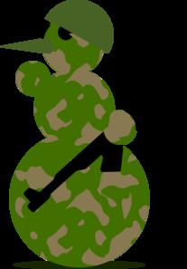 Army clipart christmas Clipart Santa Santa Clipart Military