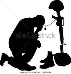 Military clipart shadow Army  fallen Pinterest Yahoo