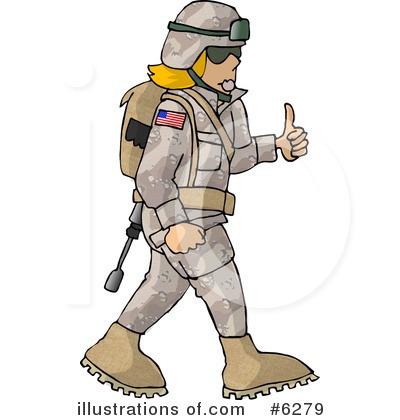 Military clipart soilder (RF) Military djart djart #6279