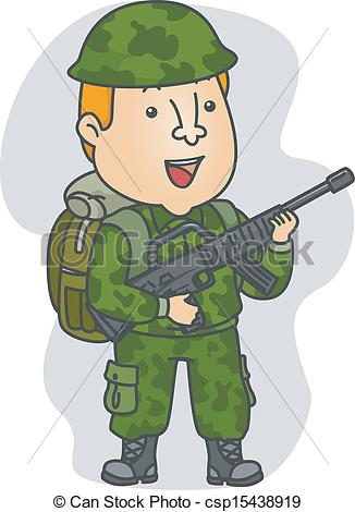 Soldier clipart graphic Occupation  Soldier Vector Soldier