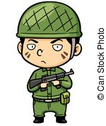 Soldier clipart vector Soldier Soldier in Illustration