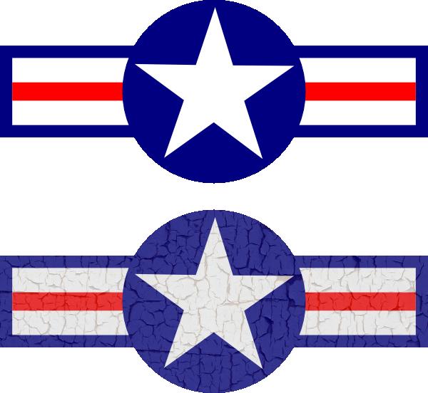 Stripe clipart military Clip at Air art Star