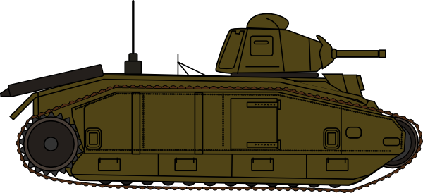 Army clipart war tank #4