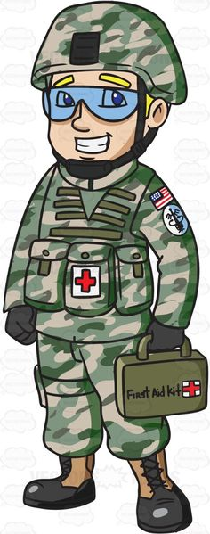 Soldiers clipart army officer A #clipart Kit # for