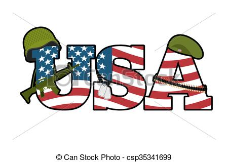 America clipart american symbol Rifle of Military US automatic