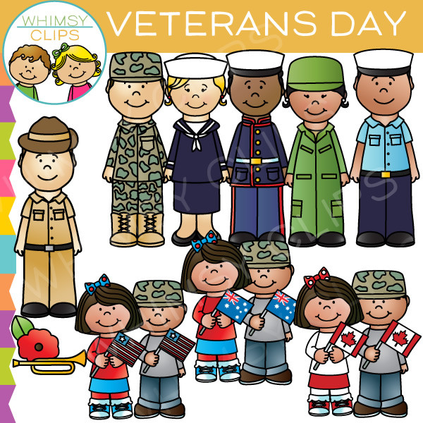 Military clipart veterans day Art Whimsy & Clip Clips