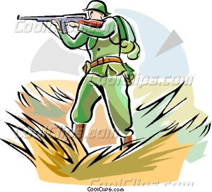 Military clipart ww1 soldier Soldier WW1 WW1 weapon art