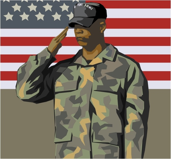 Military clipart ww1 soldier Svg Veteran Army Army art