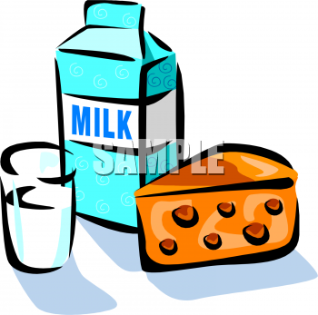 Cheese clipart milk and cheese Represent foodclipart glass foods image