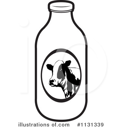 Milk Carton clipart milk bottle Perera Illustration (RF) Royalty Bottle