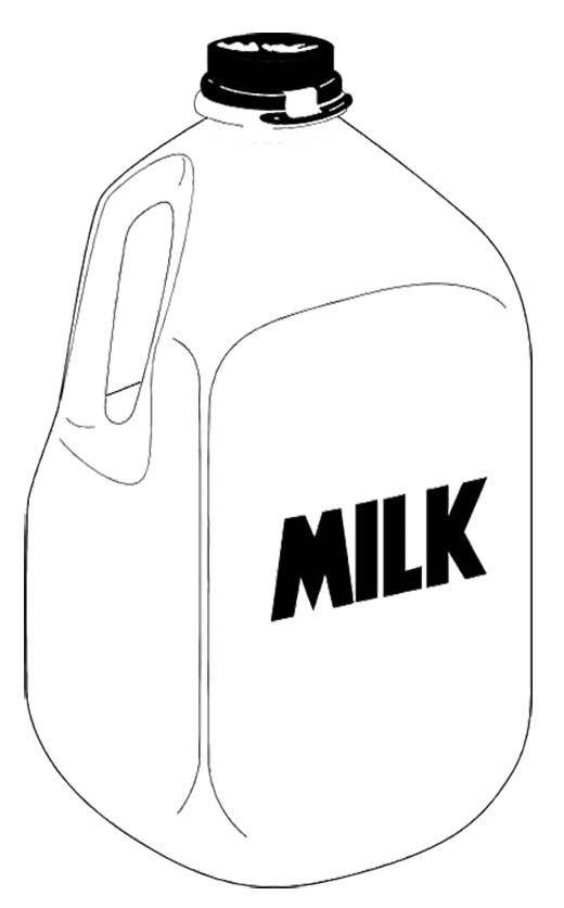 Milk Jug clipart milk bottle Lets color about 15 Pinterest
