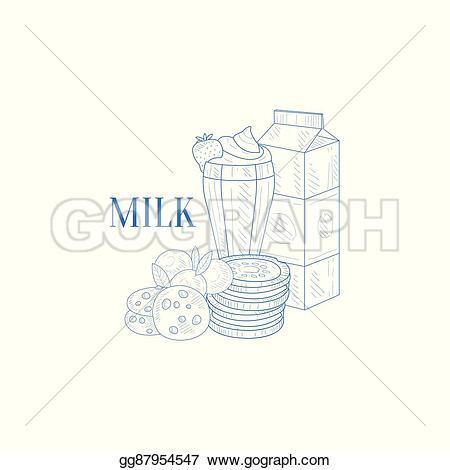 Milk Carton clipart milkshake #9