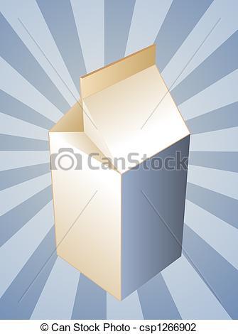 Milk Carton clipart plain #5