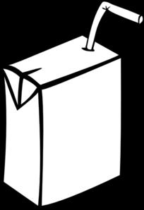 Milk Carton clipart plain #2