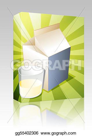 Milk Carton clipart plain #6