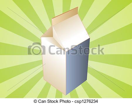 Milk Carton clipart plain #7