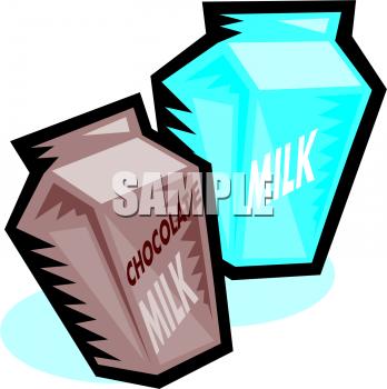 Milk Carton clipart plain #1