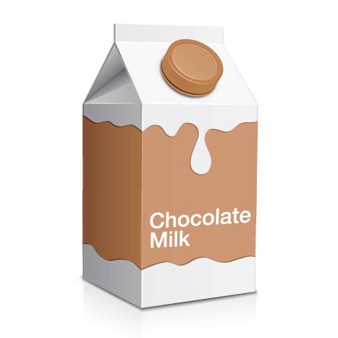 Chocolate clipart chocolate milk Gallon quart Milk clipart of