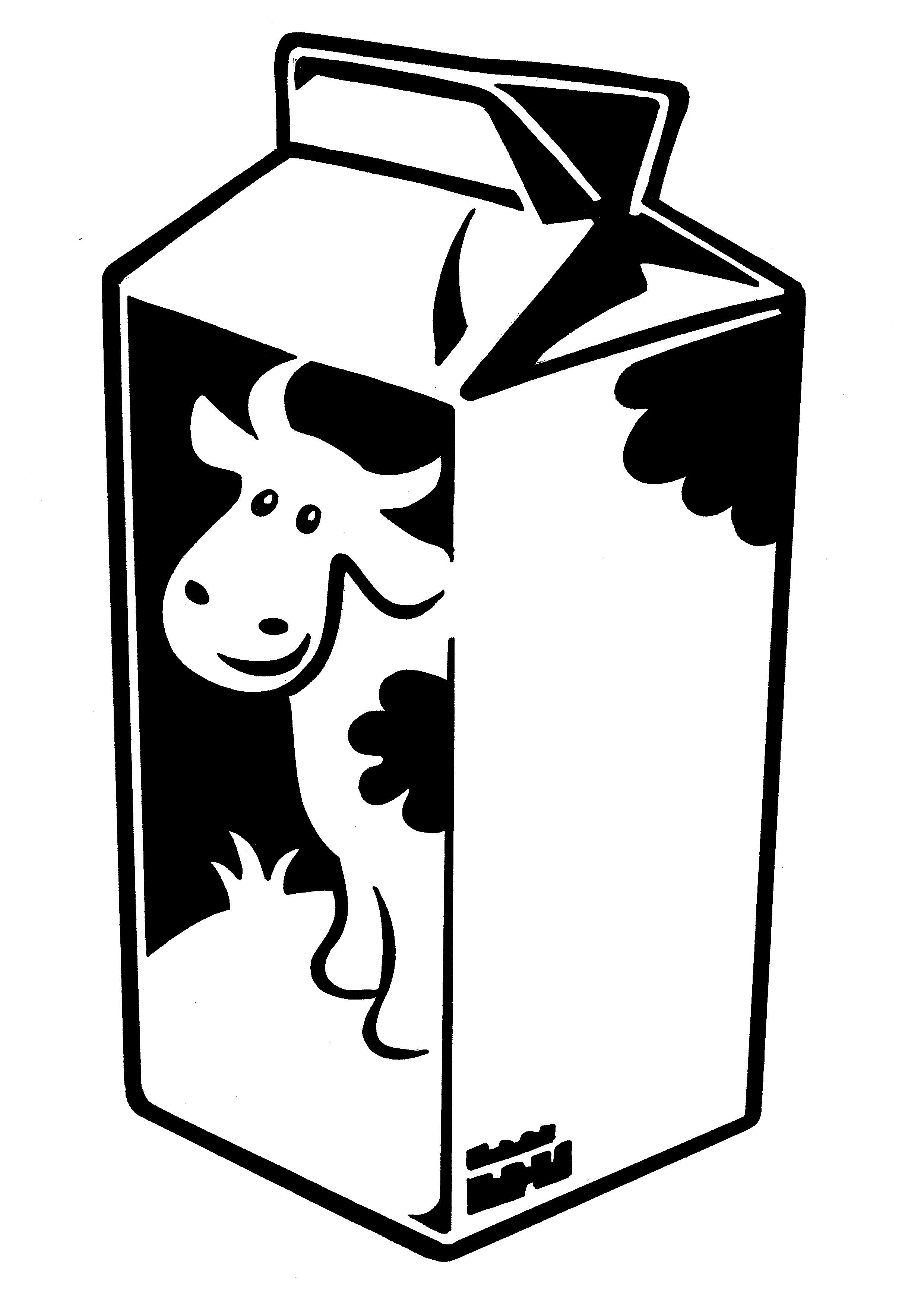 Milk Carton clipart #7