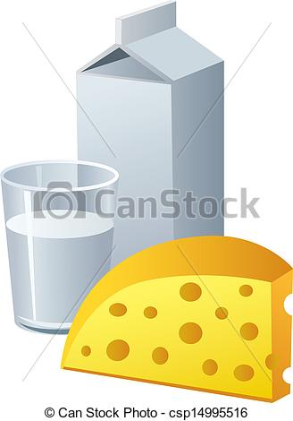 Cheese clipart milk and cheese Csp14995516  cheese milk and