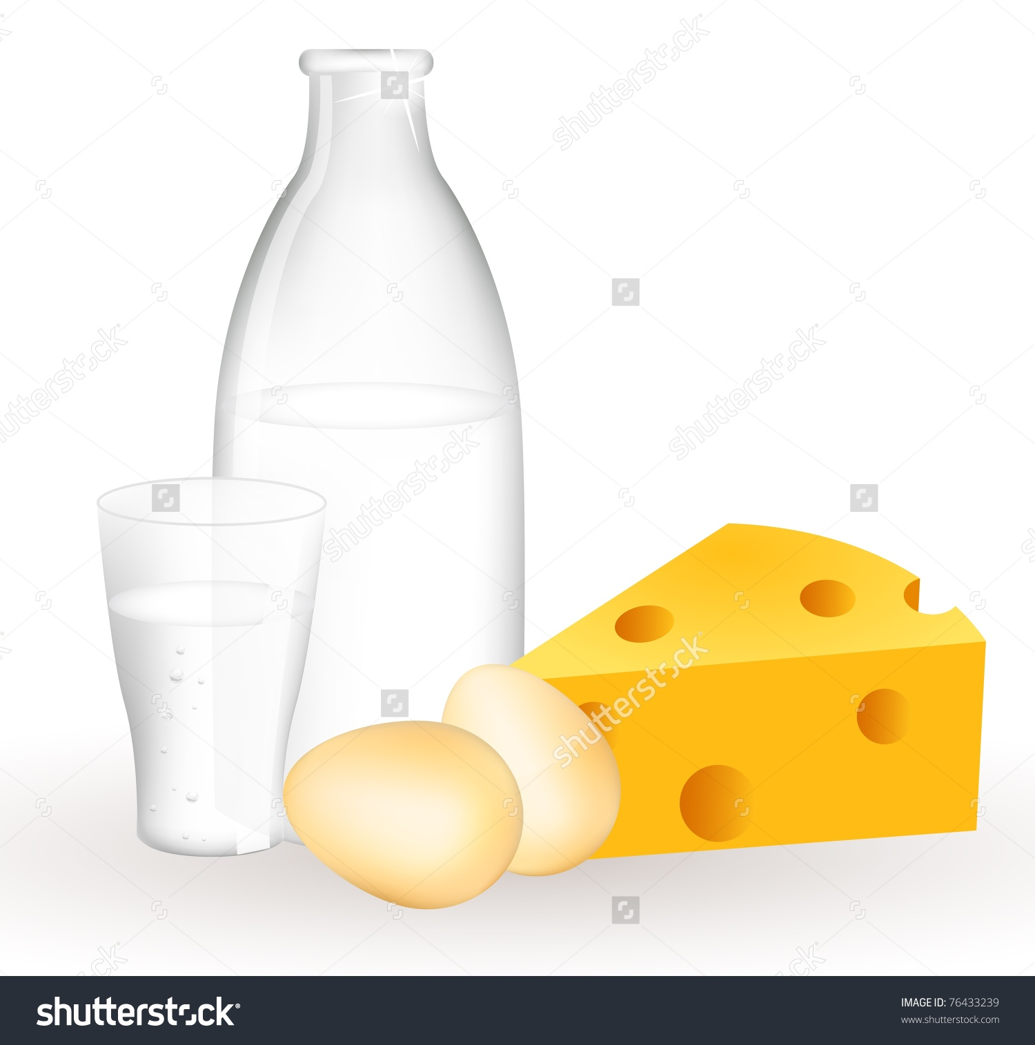 Milk Jug clipart milk egg Eggs Cheese products and and