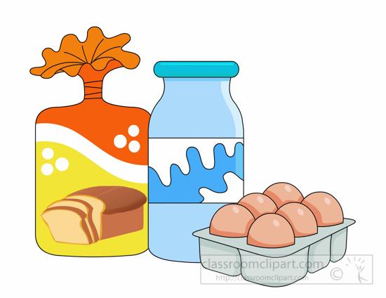 Milk Jug clipart milk egg Grocery Graphics Search milk eggs