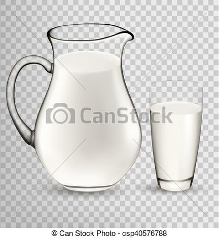 Milk Jug clipart glass drawing In  Transparent isolated Glass