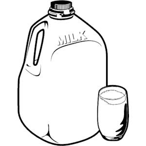 Milk Jug clipart Milk Glass Milk  Glass