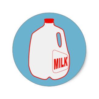 Milk Jug clipart Milk Jugs Sticker Gifts Classic