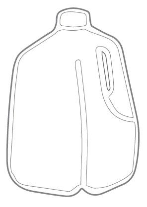 Milk Jug clipart gallon water 100611 Diagram as Of