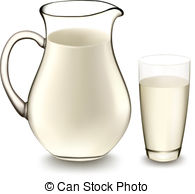Milk Jug clipart glass drawing  Jug 8 Vector 981