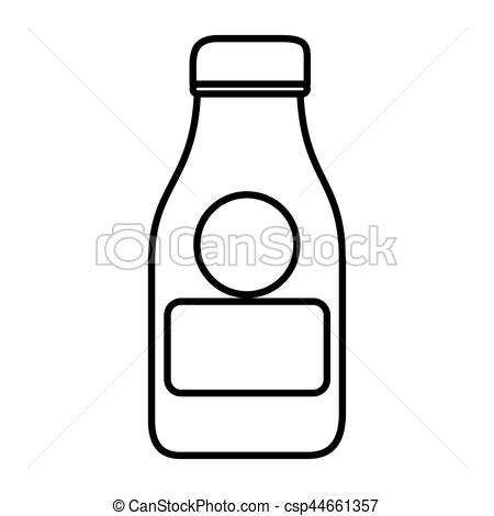 Milk Jug clipart glass drawing Of bottle Clipart of bottle