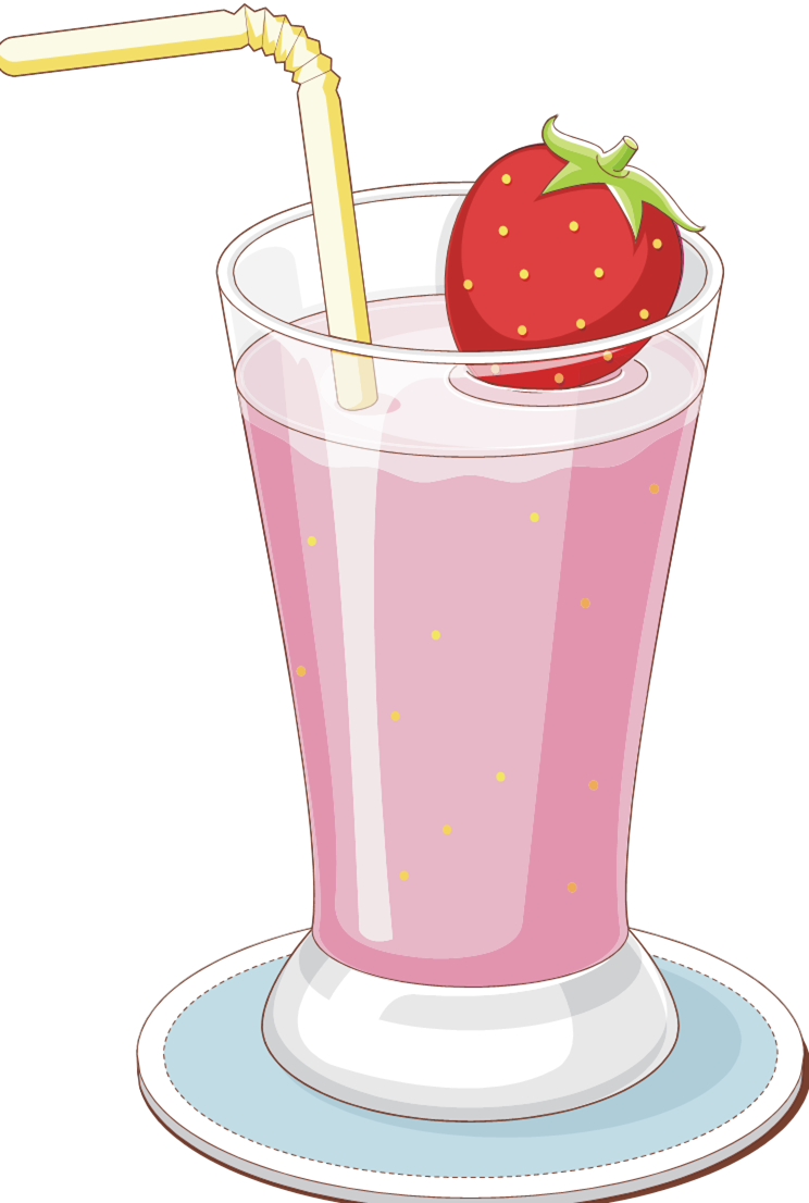 Drink clipart strawberry milk Clipart Milkshake Milkshake Clipart Cliparts
