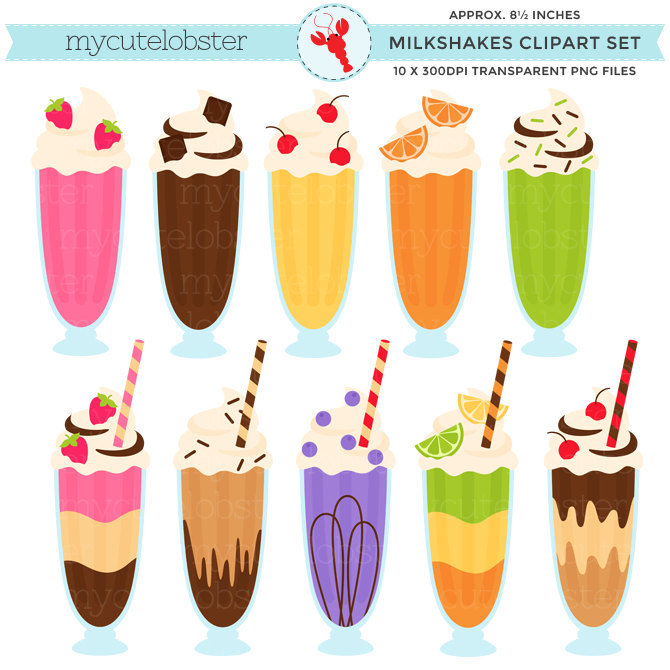 Milk Carton clipart milkshake #12