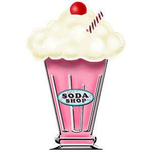 Malt clipart Milkshake shake clipart art Milkshake