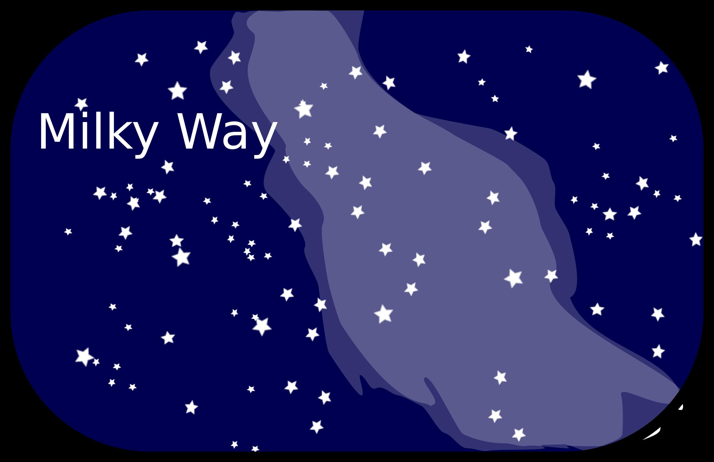 Milky Way clipart Way Milky #9 Download Milky