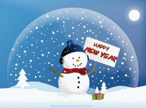 Snowman clipart new year 121 pictures detail for animated