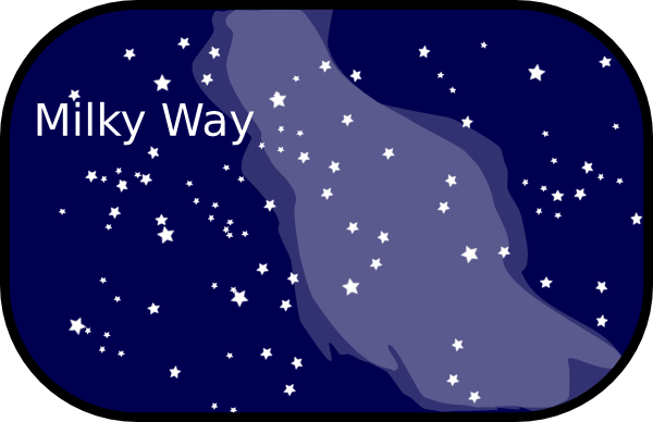 Milky Way clipart cartoon Milky art Way vector this