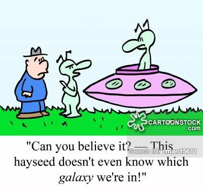 Sci Fi clipart funny alien #1