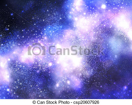 Nebula clipart milky way Illustration Clipart Stock way way