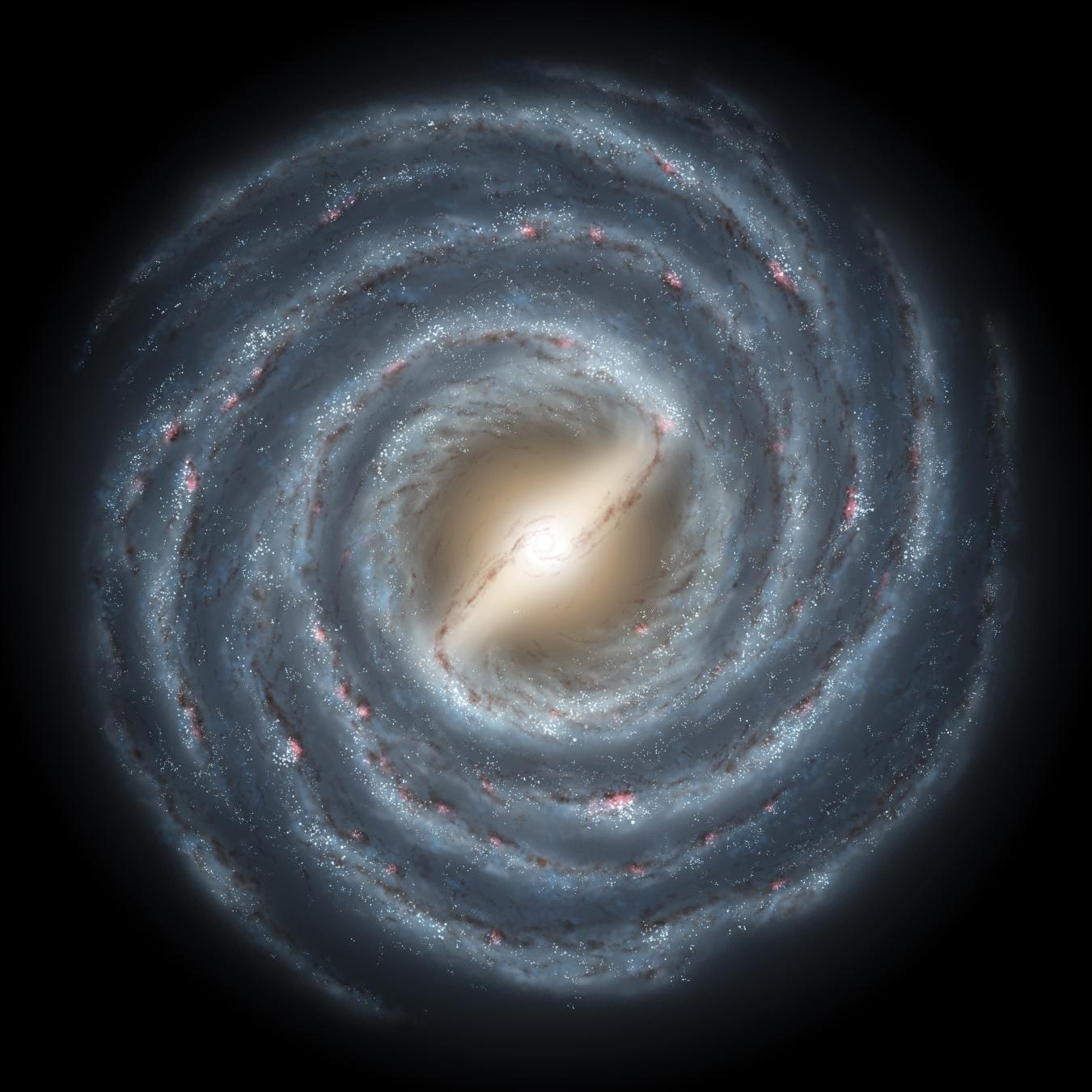 Milky Way clipart cosmic Map Galaxy Clip 3) Pics