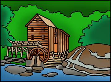 Mill clipart Free Free West Clip Clipart