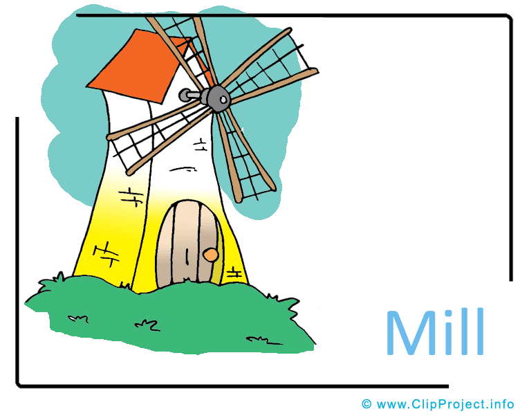 Mill clipart Farm Mill Image Cliparts free