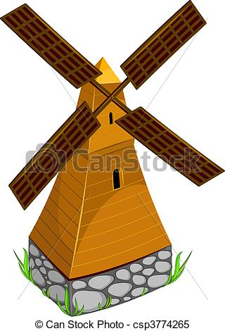 Mill clipart Mill AI Mill csp3774265 Vector