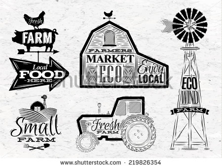 Mill clipart country scene Vintage in barn and