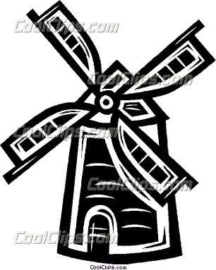 Windmill clipart dutch windmill #2