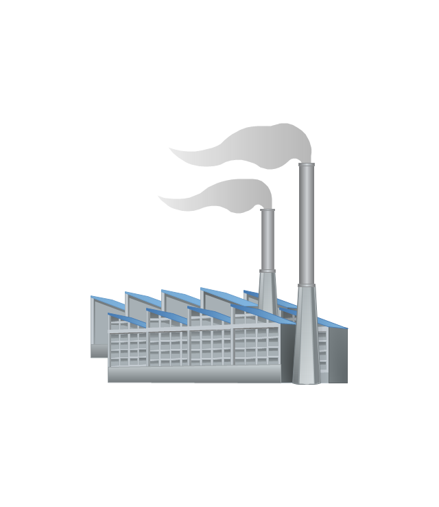 Caol clipart industrial building Clipart Free Industrial Manufacturing Clip
