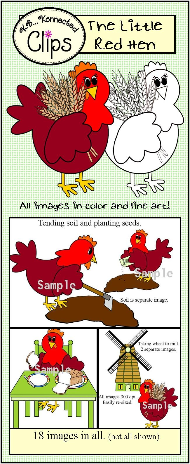 Mill clipart little red hen Images Pinterest The hen best