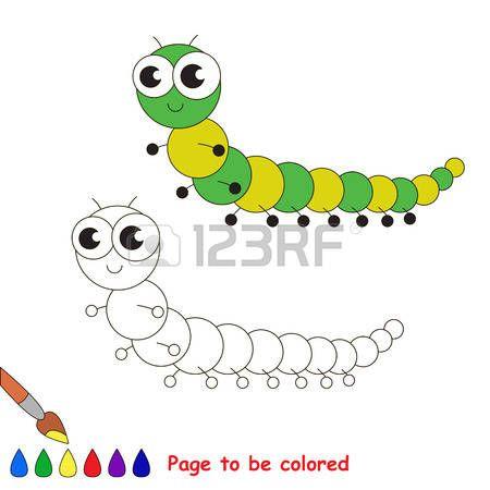 Millipede clipart Scorpion Clipart Coloring be  colored millipede: