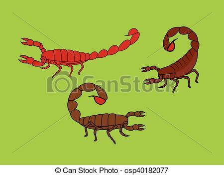Millipede clipart Scorpion Clipart Illustration Art Scorpions Insect EPS